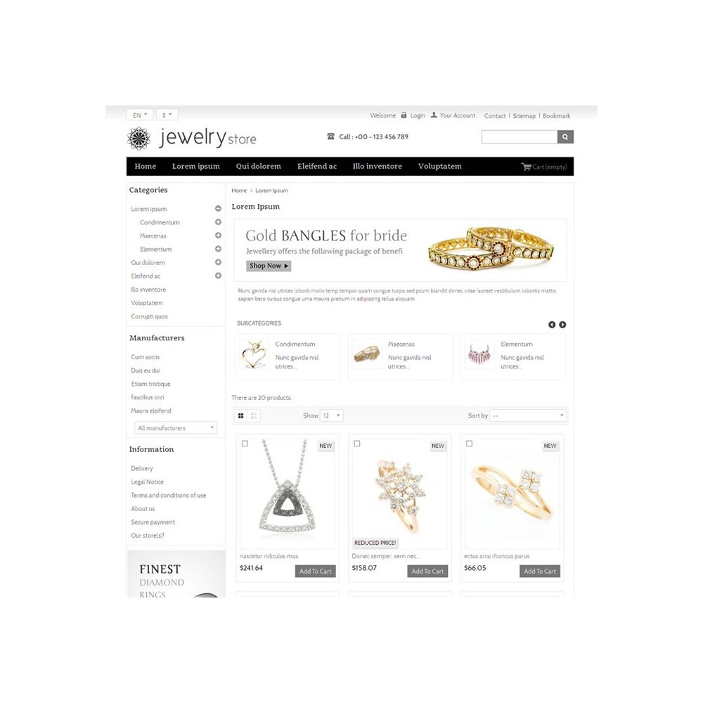 theme - Bellezza & Gioielli - Best Jewelry Online Store - 3