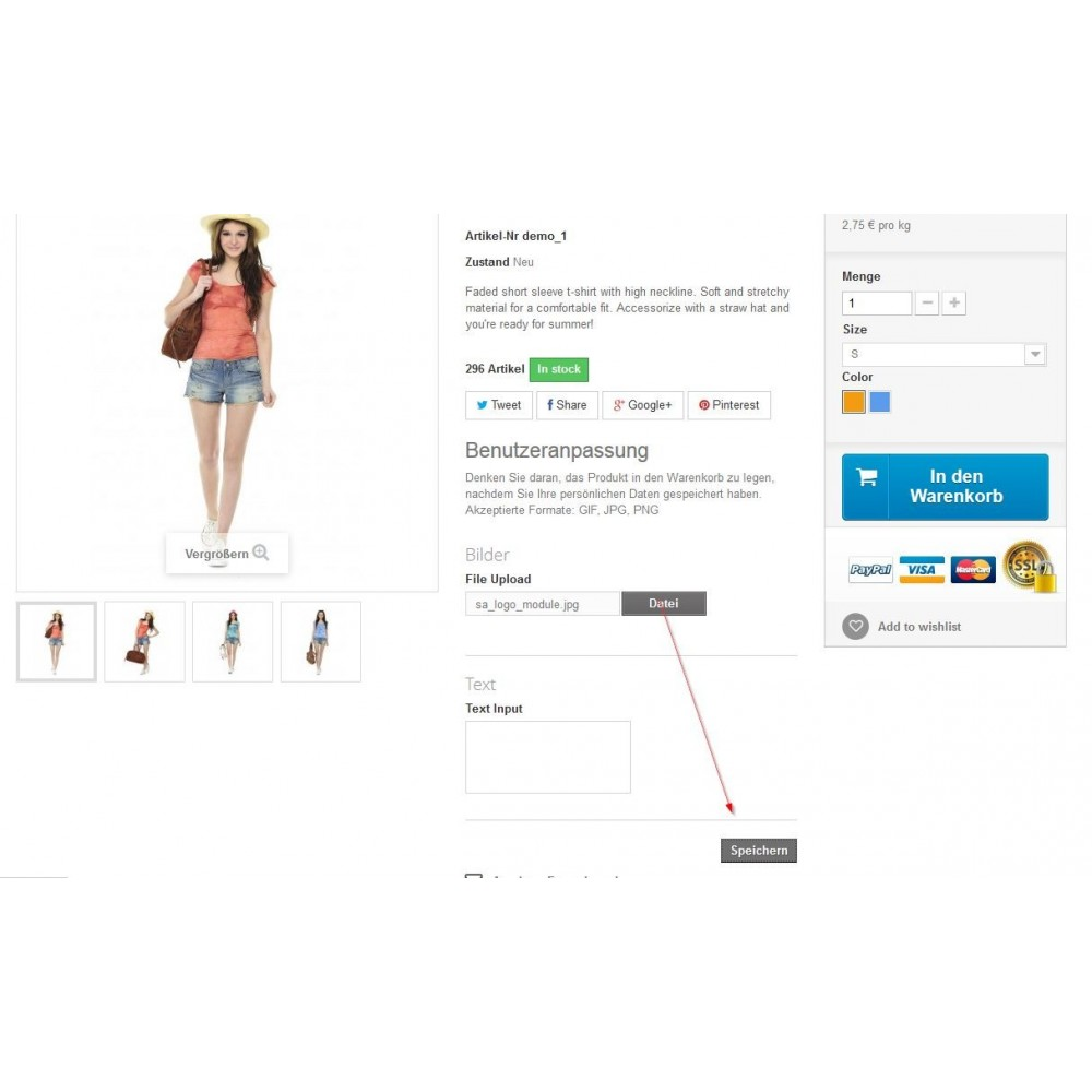 module - Additional Information & Product Tab - Move Customization Fields to the Top - 2