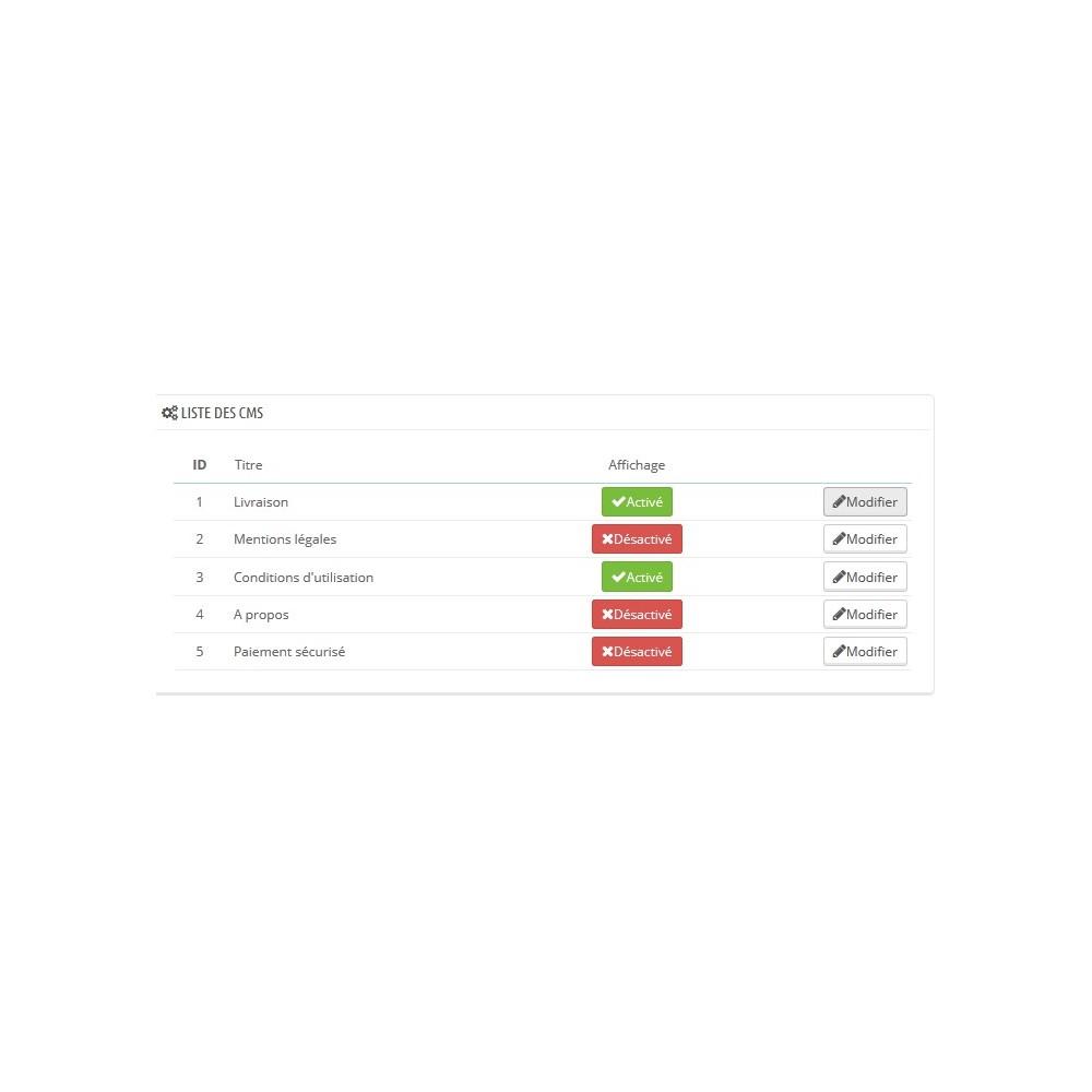 module - Sliders & Galeries - Ajoutez un diaporama à vos pages CMS - 1
