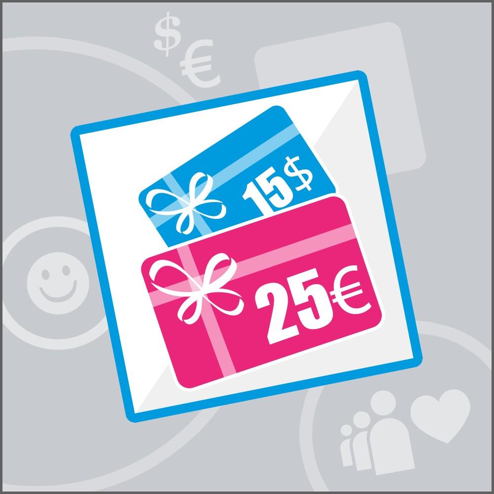 module - Список желаний и Подарочный купон - Gift Card - 1