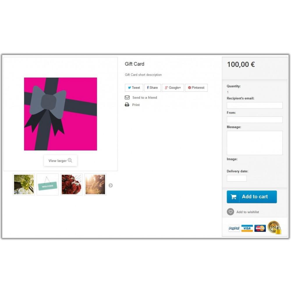 module - Список желаний и Подарочный купон - Gift Card - 2