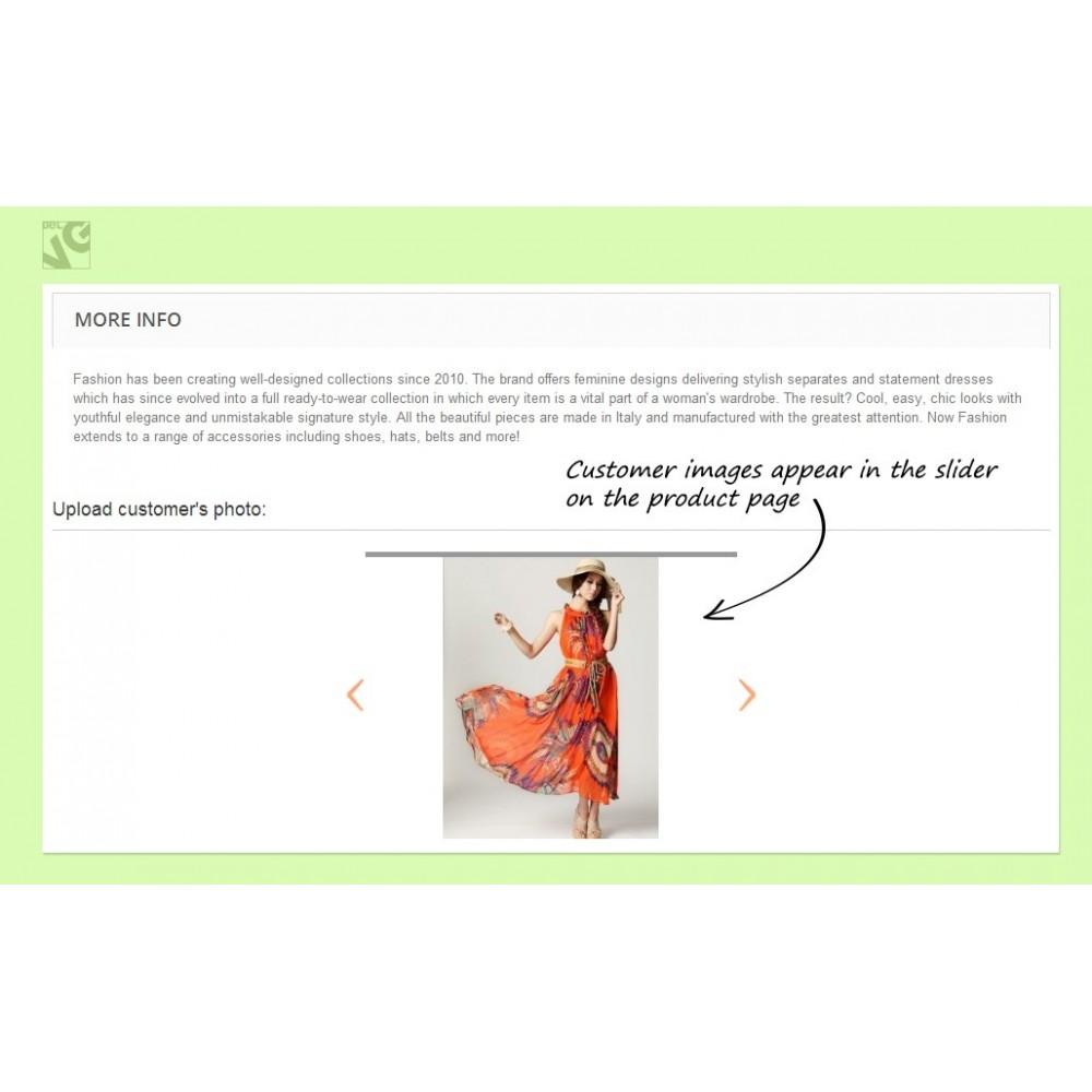 module - Показ товаров - Customer Images Uploader - 8