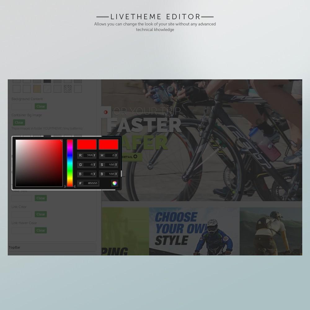 theme - Sports, Activities & Travel - Super Bike - 5