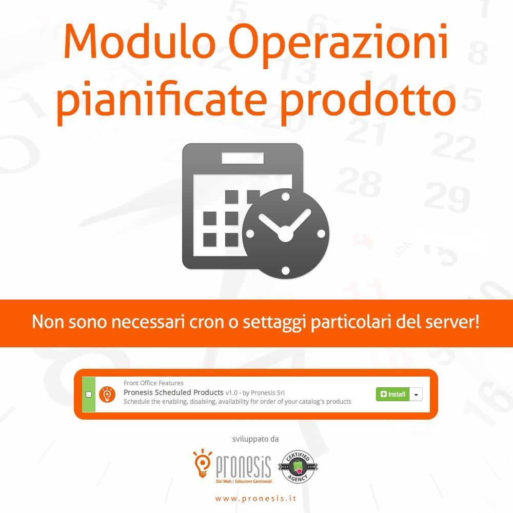 module - Amministrazione - Pubblicazione Prodotti Automatica - 1