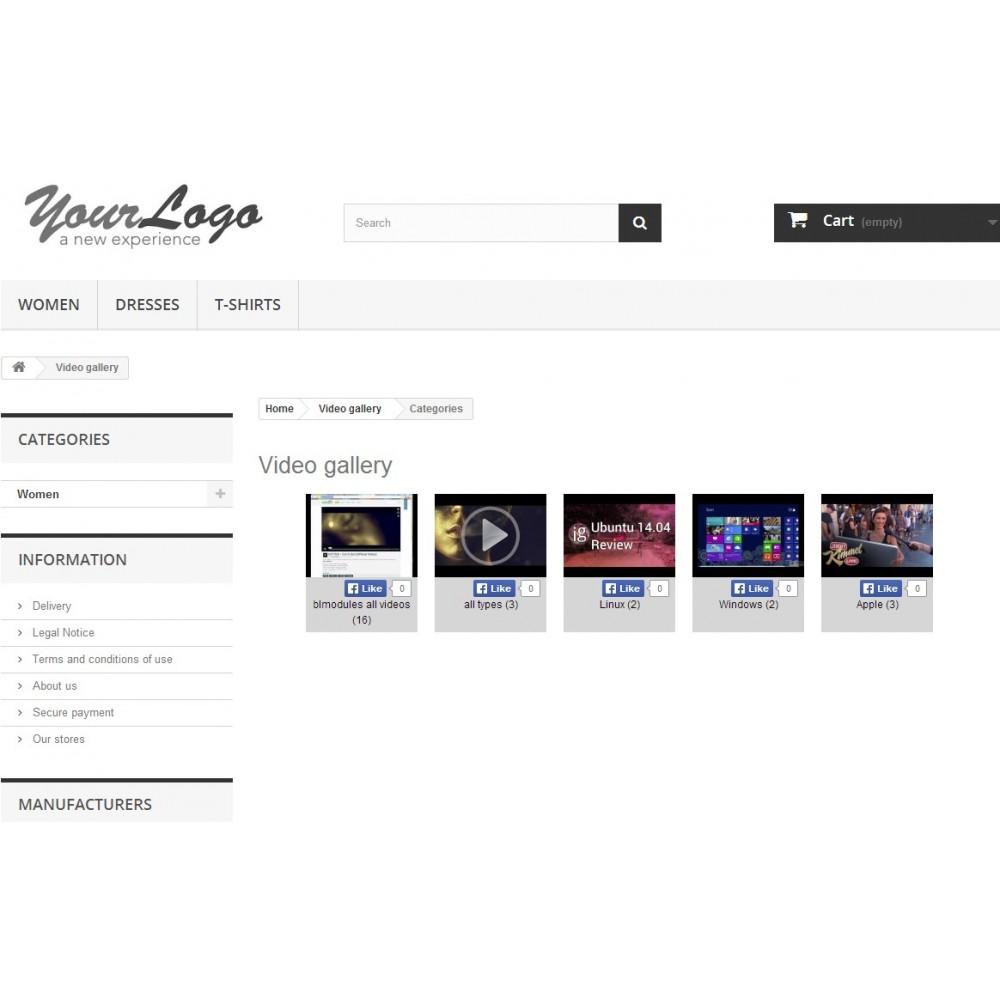 module - Vidéo & Musique - Video gallery - 8