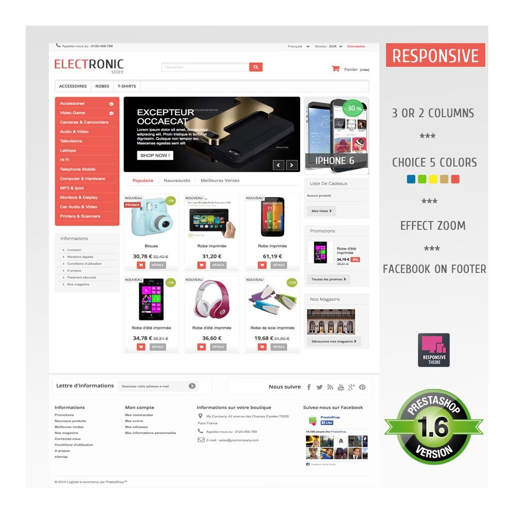 theme - Elettronica & High Tech - ELECTROSHOP - 4