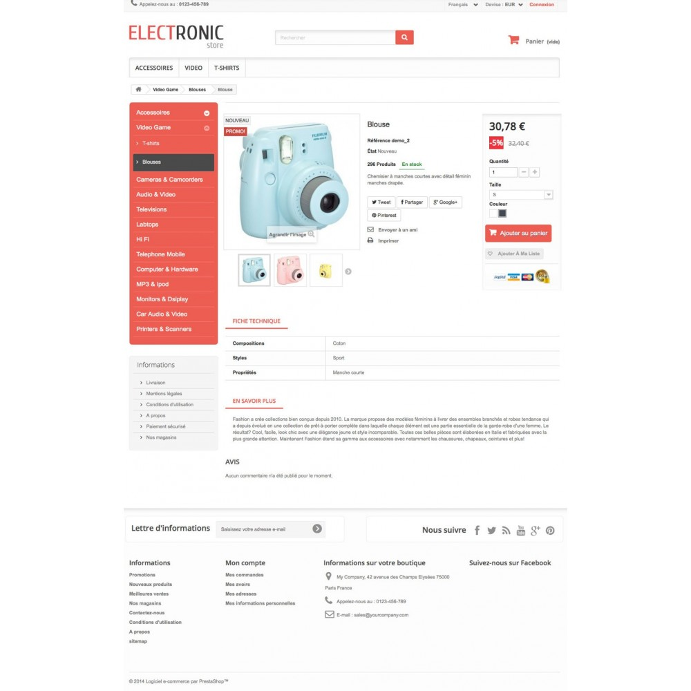 theme - Electronique & High Tech - ELECTROSHOP - 6