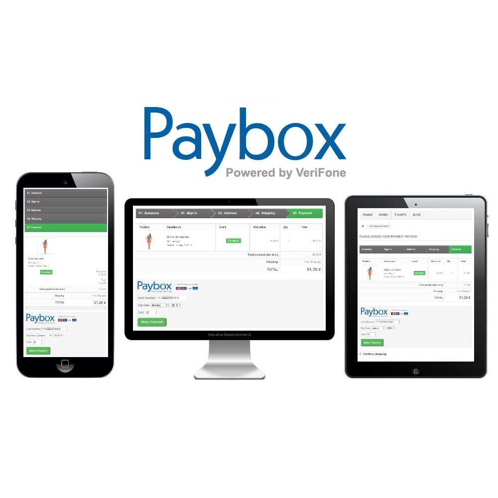 module - Paiement par Carte ou Wallet - Paybox (1.5, 1.6 & 1.7) - 2