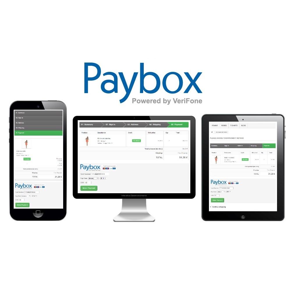 module - Paiement par Carte ou Wallet - Verifone E-commerce (Paybox) - 1.5, 1.6 & 1.7 - 2