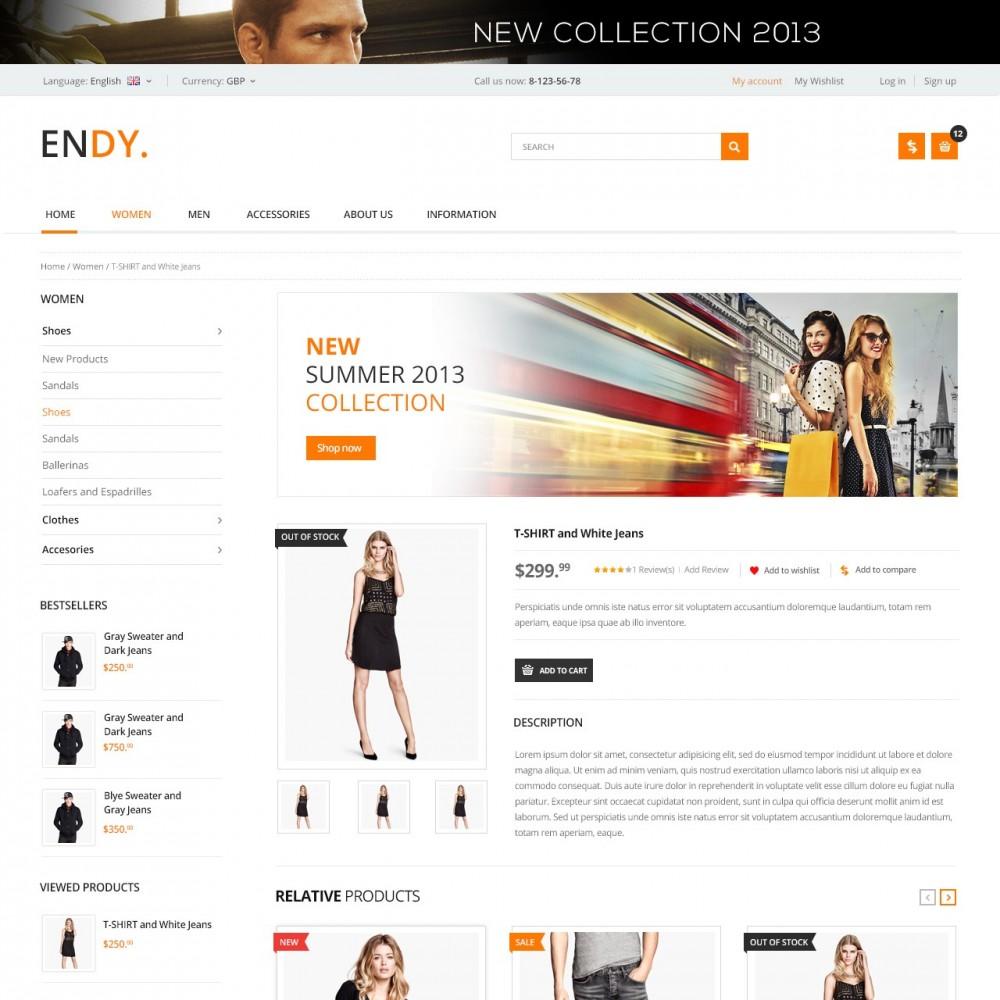 theme - Мода и обувь - Endy - Дизайнерская Одежда - 3