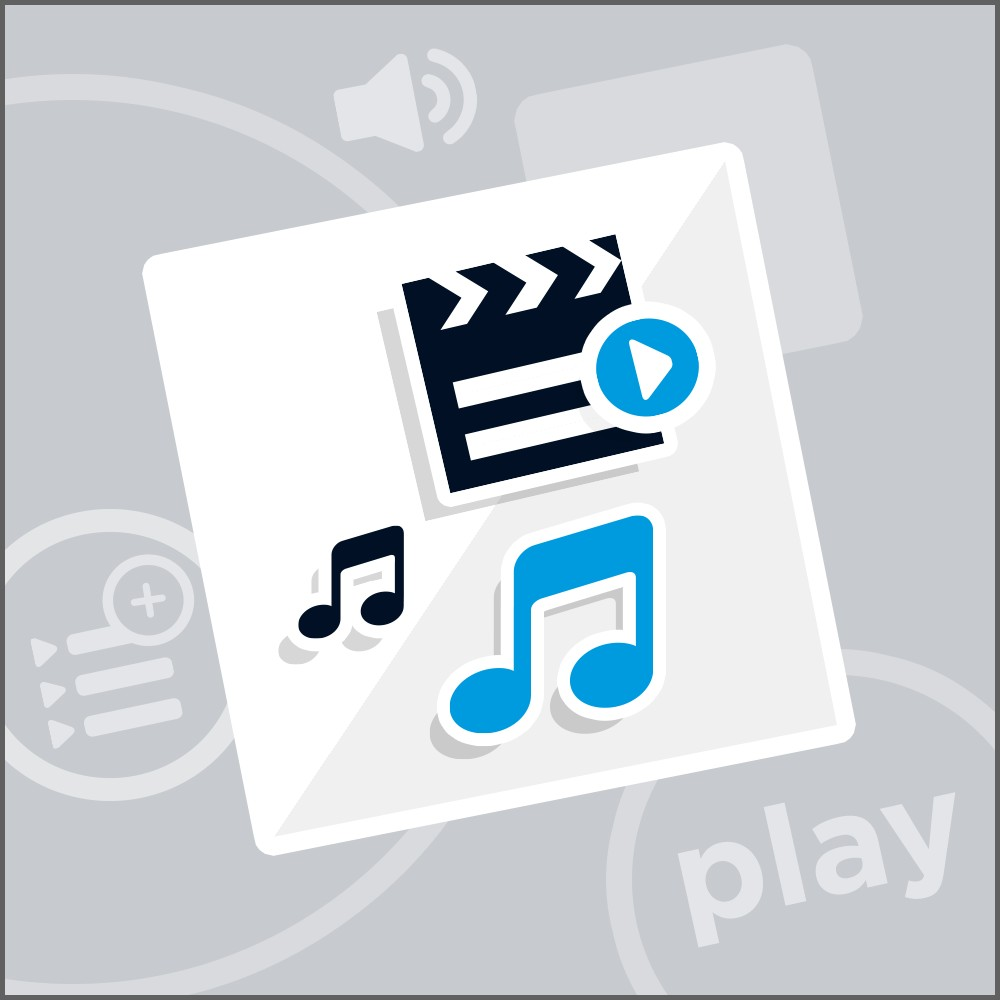 module - Videos & Music - Product Media (Audio / Video) - 1