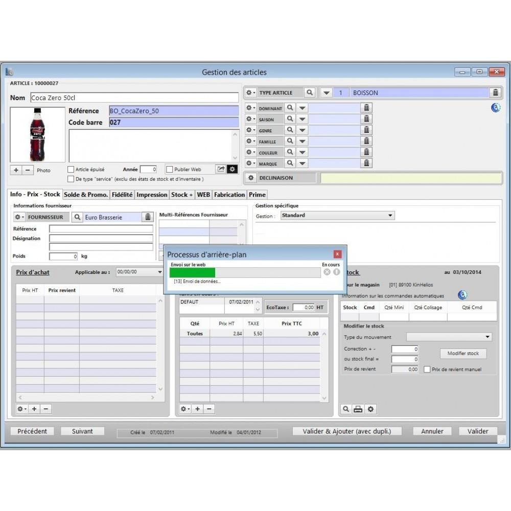 module - Logiciel de caisse (POS) - KinTPV Connect V6 - 2