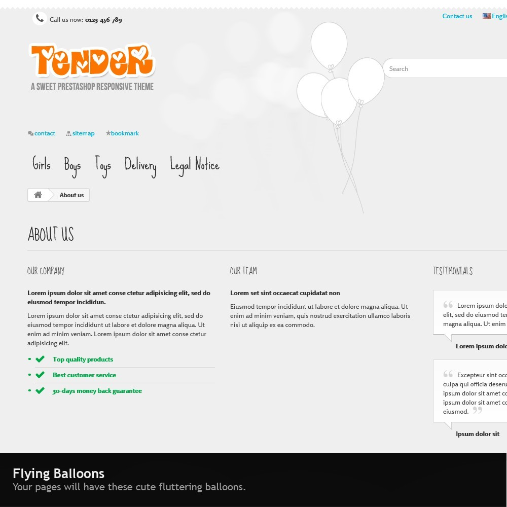 theme - Kids & Toys - Tender Responsive - 8
