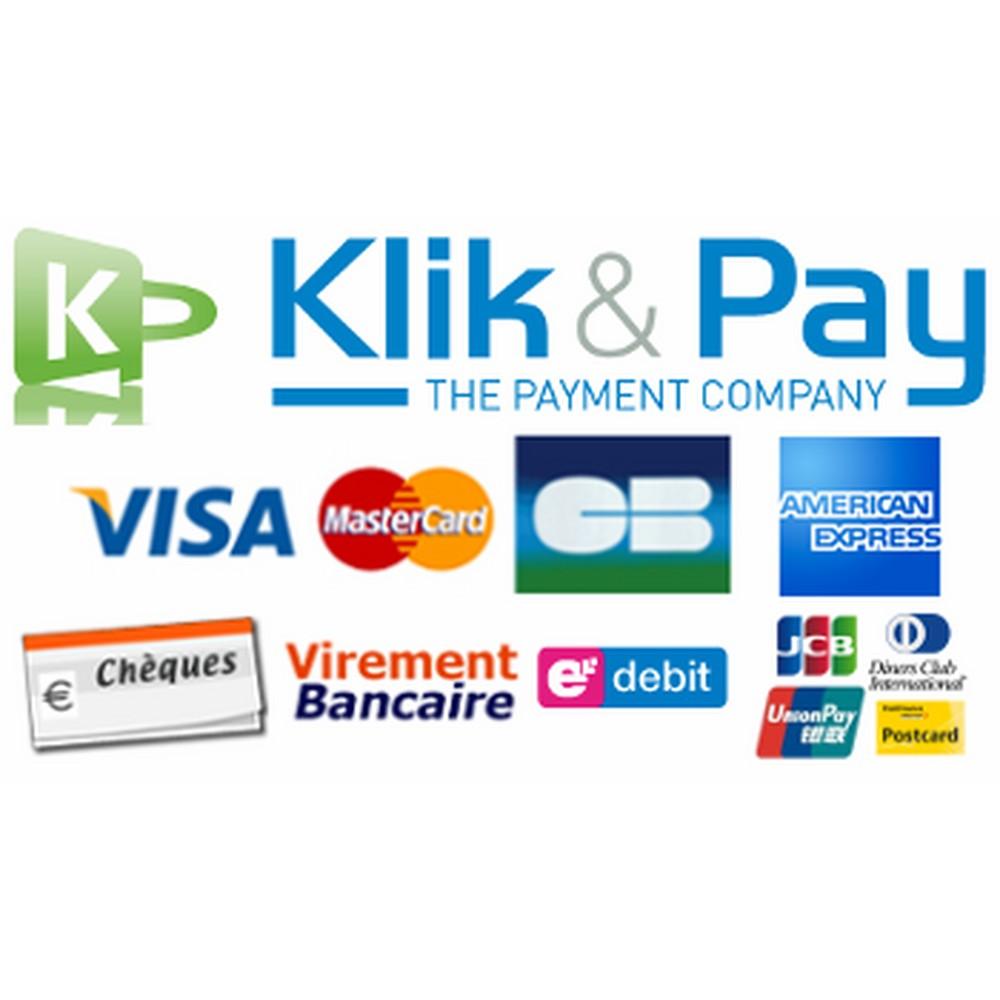 module - Оплата банковской картой или с помощью электронного кошелька - klikandpay - 1