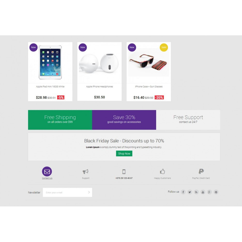 theme - Elettronica & High Tech - Digital Mobile Store Responsive - 4