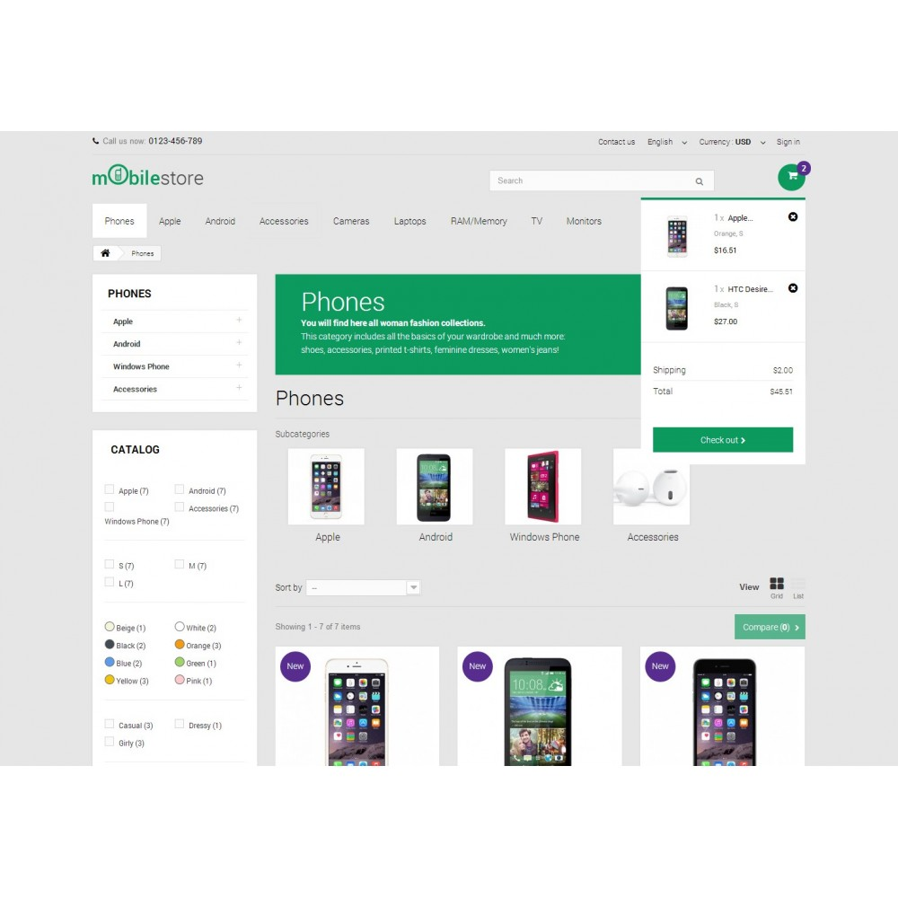 theme - Электроника и компьютеры - Digital Mobile Store Responsive - 6