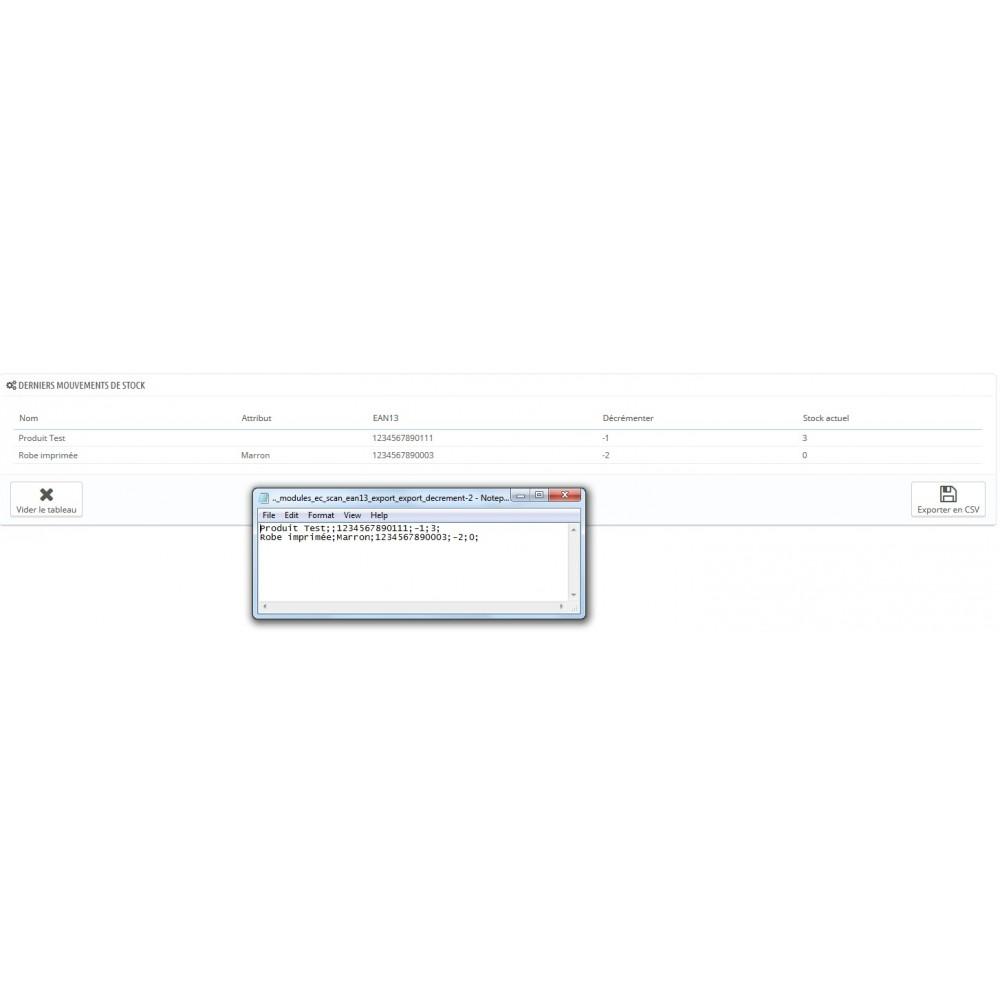 module - Gestion des Stocks & des Fournisseurs - Scan douchette produit avec EAN13 - 4