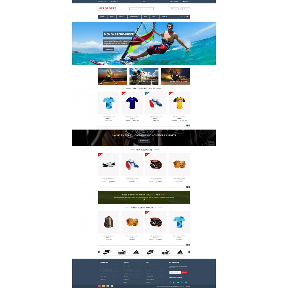 theme - Sports, Activities & Travel - JMS Sport - 5