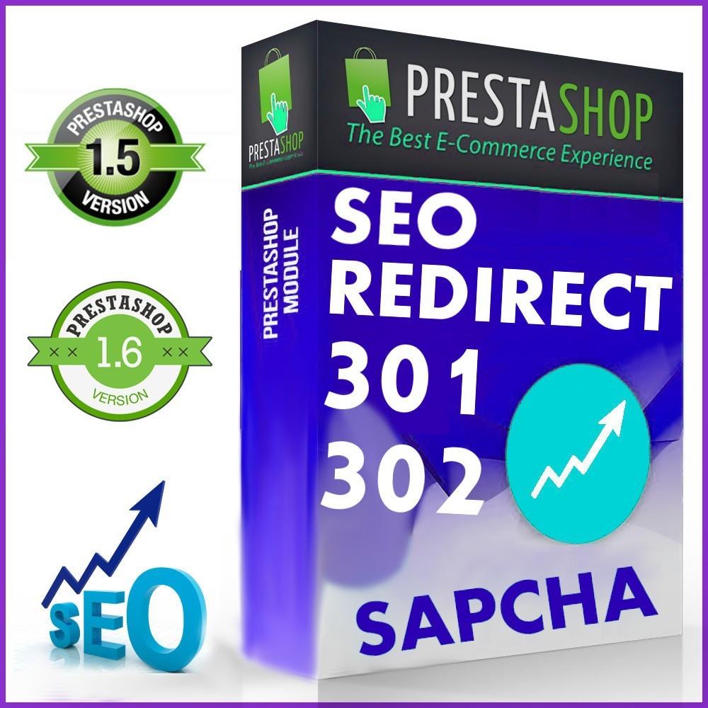 module - URL & Redirects - SEO 301/302 Umleitungen - 1