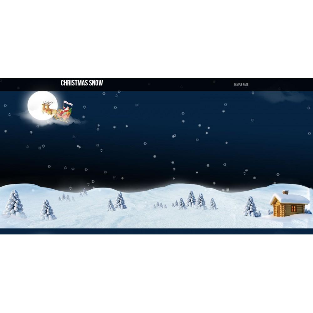 module - Personalizacja strony - Snow Christmas - 2