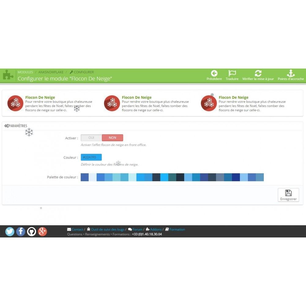 module - Personalisering van pagina's - SnowFlake - 3