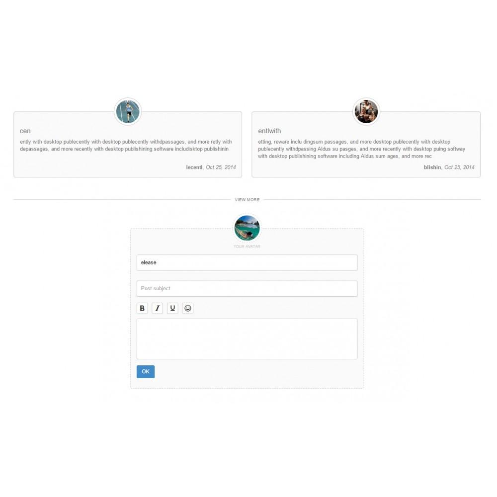 module - Opiniões de clientes - Testimonials with avatars - 9