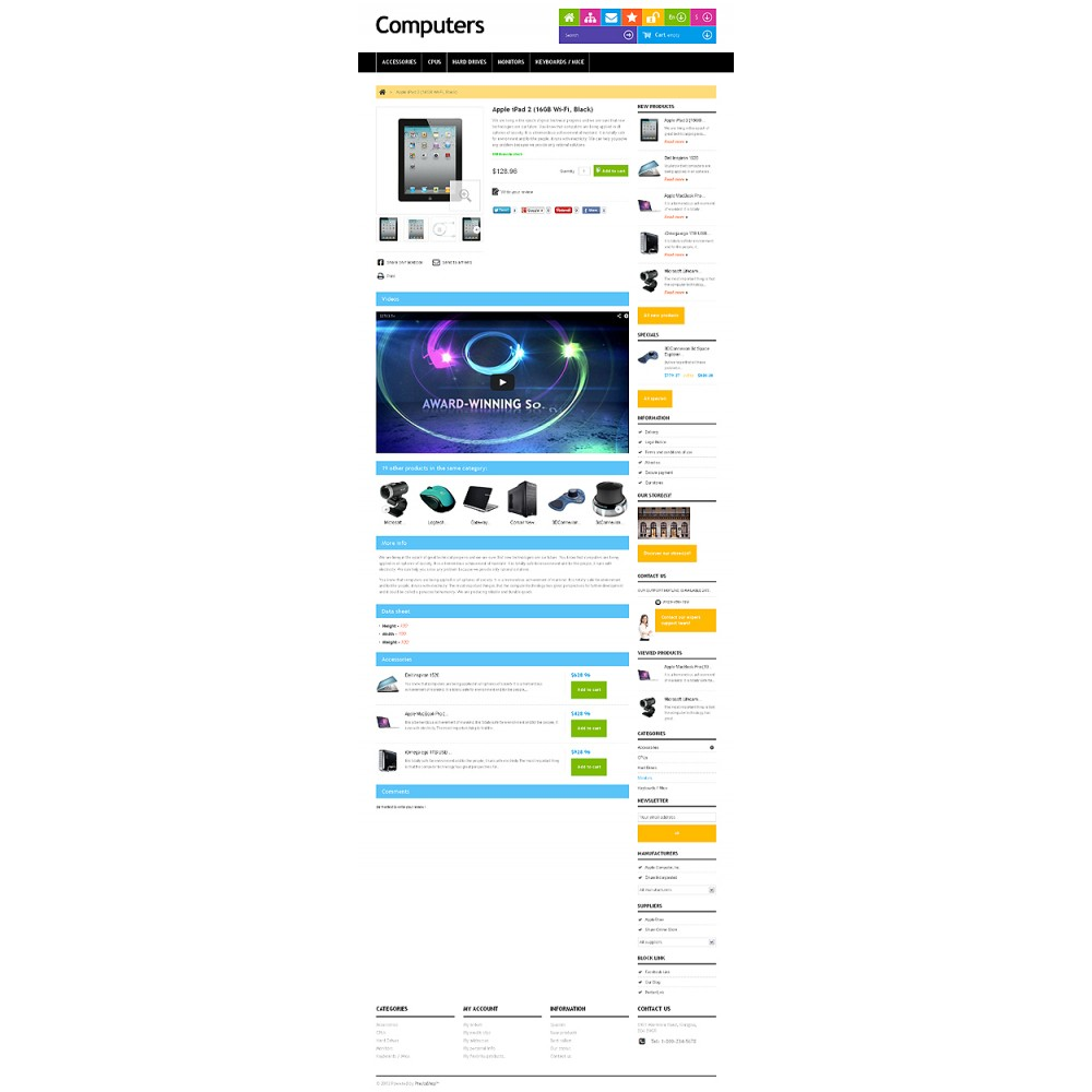 theme - Elektronik & High Tech - Responsive Computers Store - 3