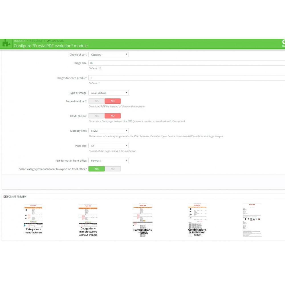 module - Importación y Exportación de datos - RSI PDF/HTML catalog  evolution - 4