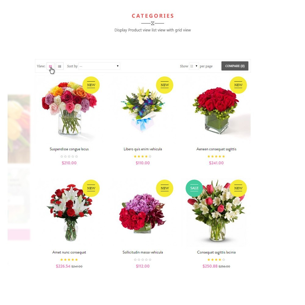 theme - Gifts, Flowers & Celebrations - Leo Flower Shop - 3