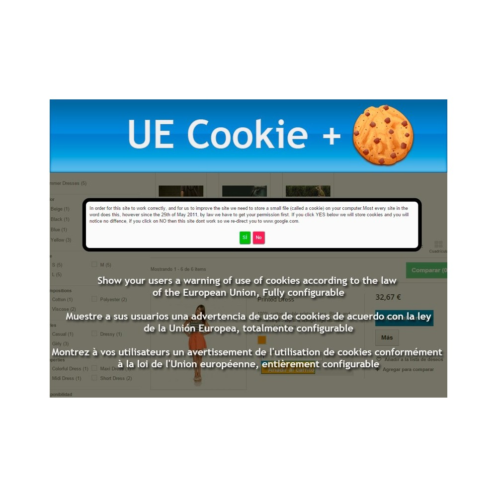 module - Législation - UE Cookie + European Cookie Law - 1