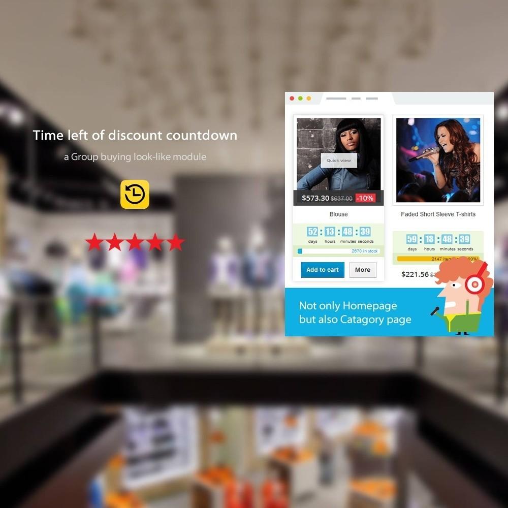 module - Закрытых и рекламных распродаж - SOO Countdown Discounts - 1