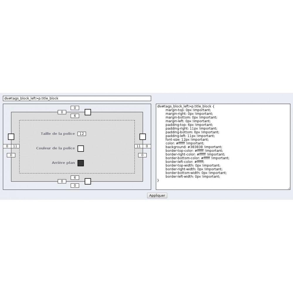 module - Personnalisation de Page - Theme Customizer v2 : personnalisez votre thème - 4