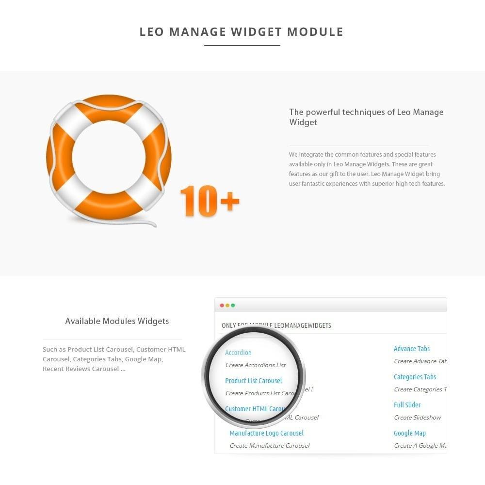 module - Individuelle Seitengestaltung - Leo Manage Widget - 3