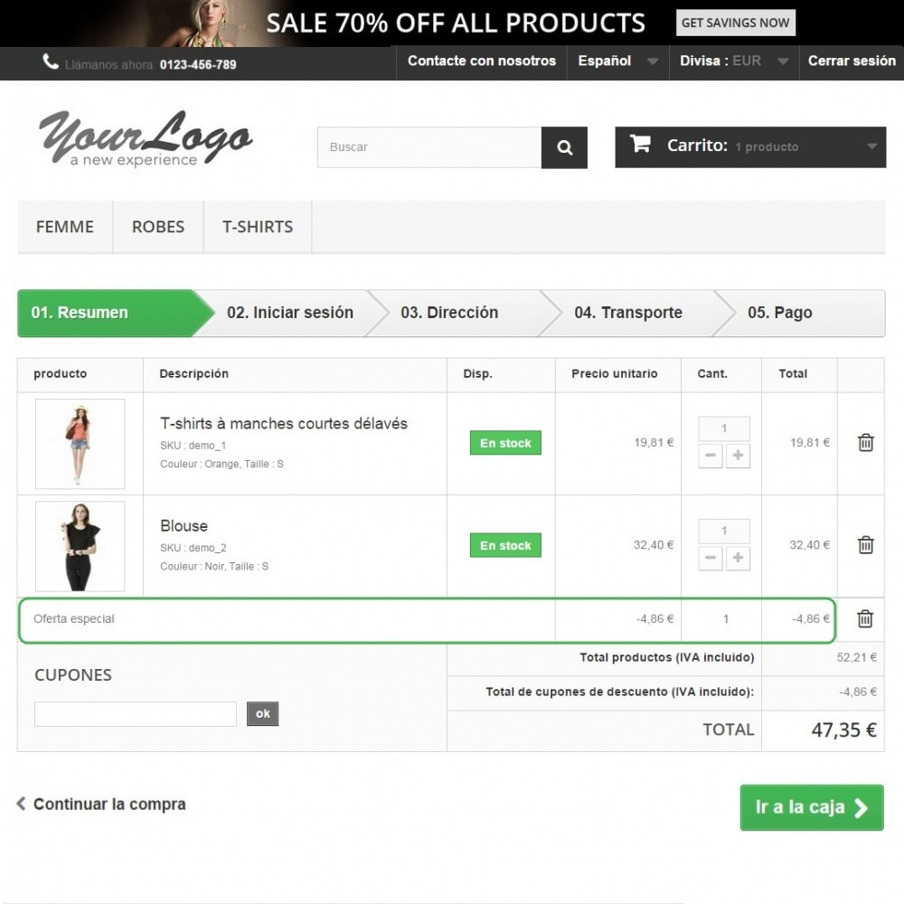 module - Ventas cruzadas y Packs de productos - Average Cart Booster (Cross-selling) - 3