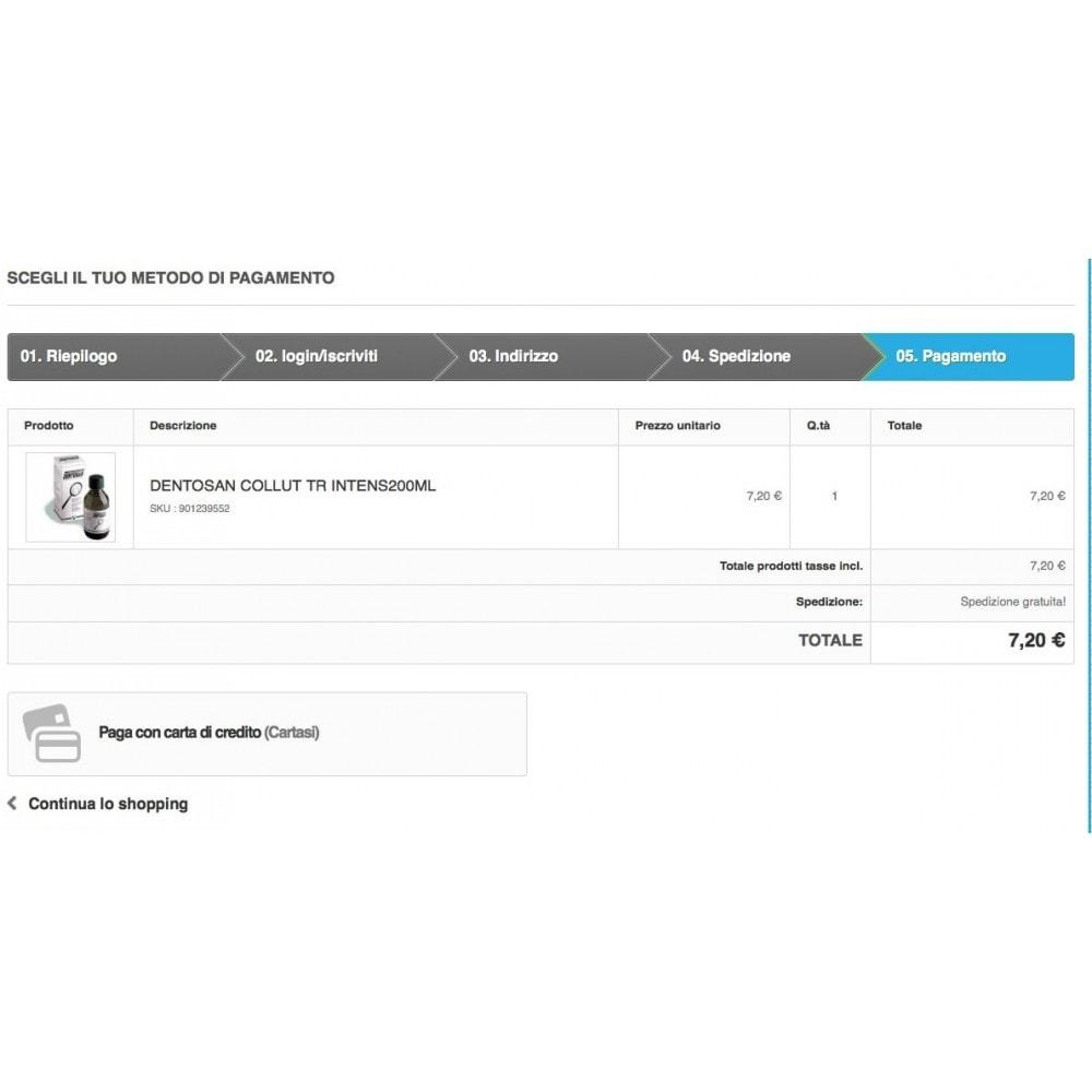 module - Pagamento con Carta di Credito o Wallet - Cartasi Nexi + fee - 4