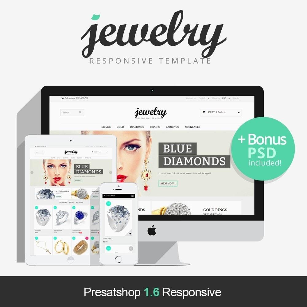 theme - Sieraden & Accessoires - Jewelry Prestashop 1.6 Responsive - 1