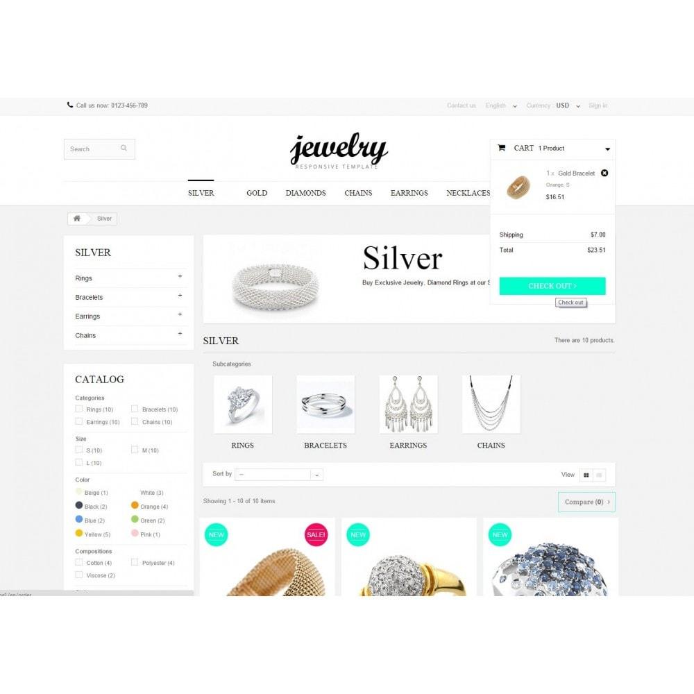 theme - Sieraden & Accessoires - Jewelry Prestashop 1.6 Responsive - 6