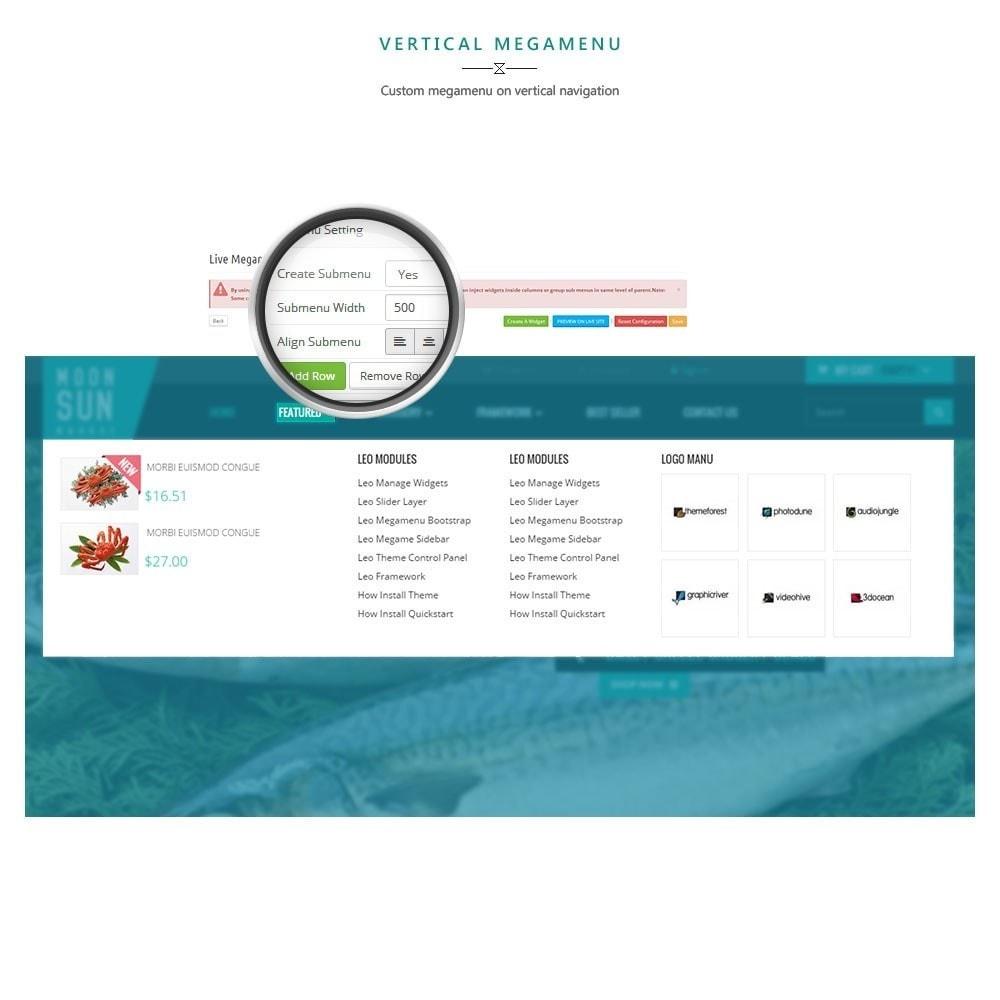 theme - Cibo & Ristorazione - Leo Moonsun Market - 5