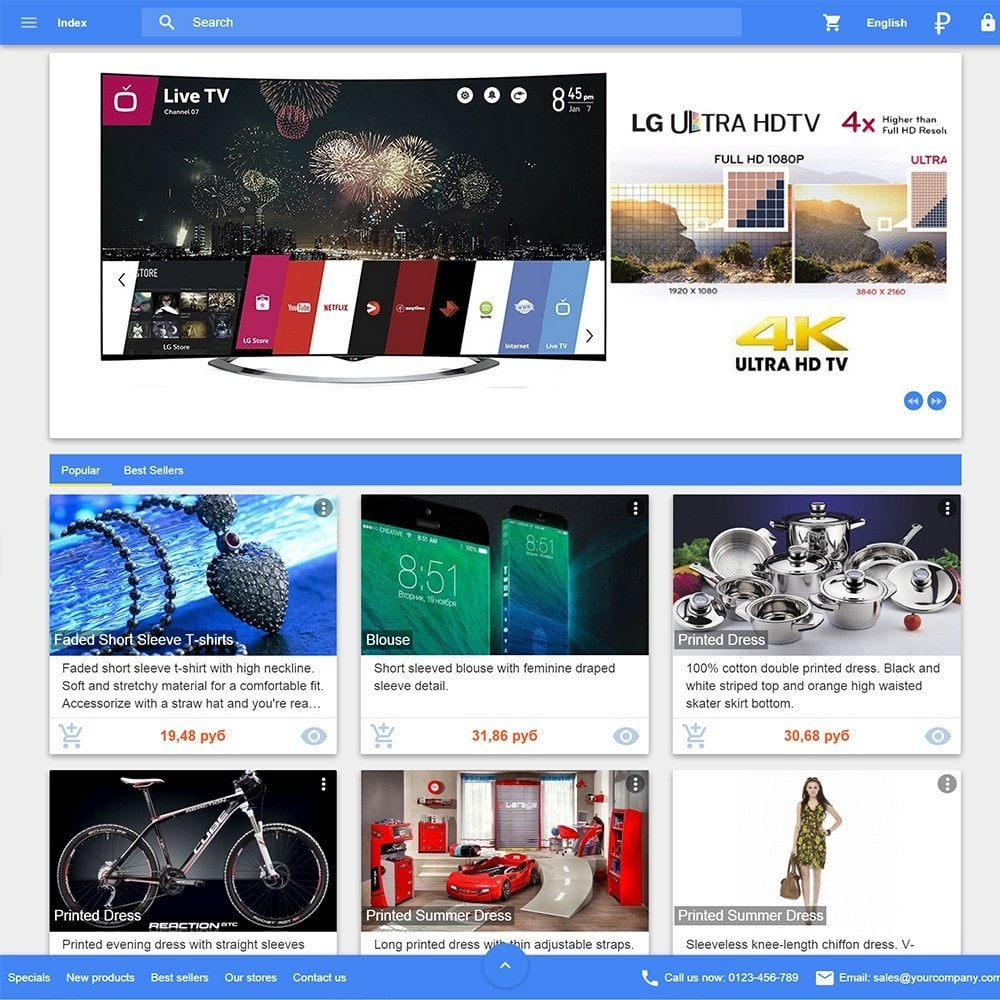 theme - Electronics & Computers - Material design Google - 1