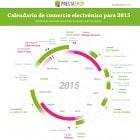 Spanish 2015 eCommerce Calendar