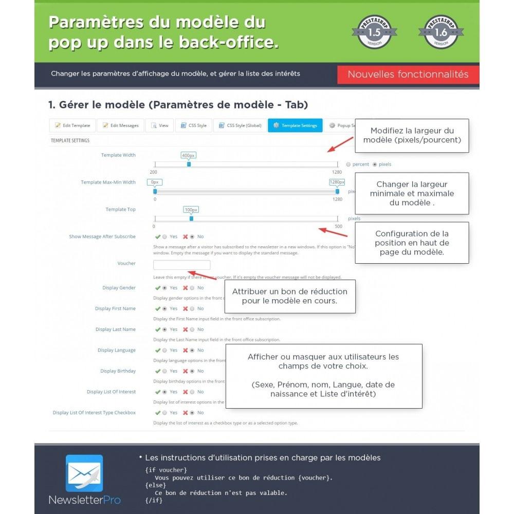module - Newsletter & SMS - Newsletter Pro - 25