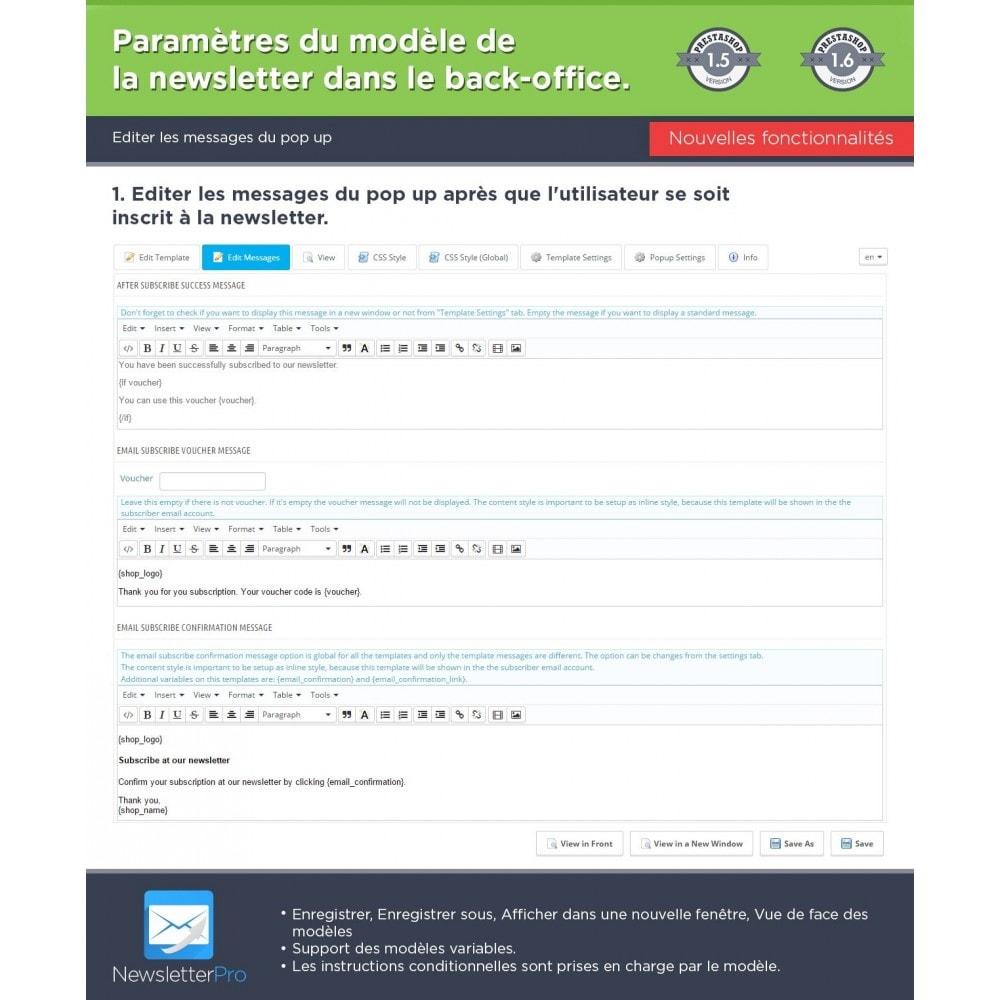module - Newsletter & SMS - Newsletter Pro - 27