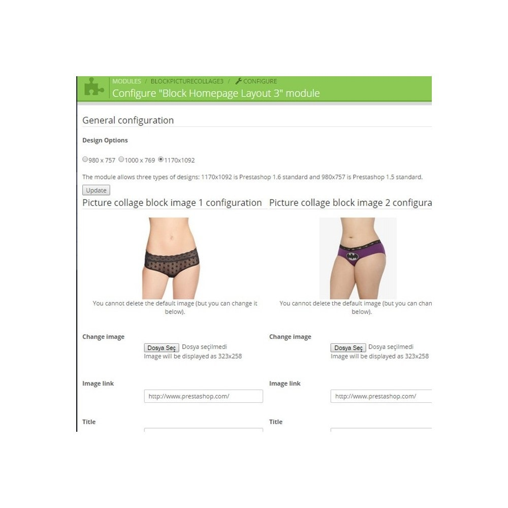 module - Personalizacja strony - Responsive Homepage Layout 3 - Lingerie - 3