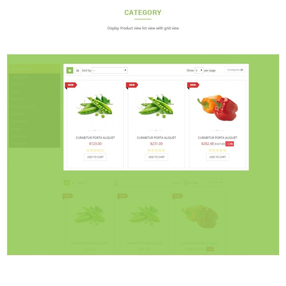theme - Food & Restaurant - Leo Fresh Store - Food, Vegetables, Fresh market - 3