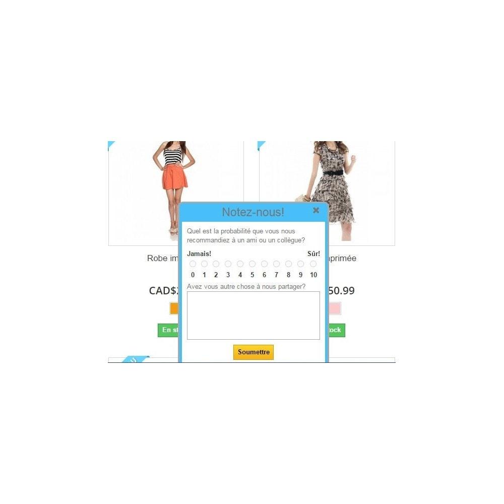 module - Formulaires de Contact & Sondages - Promoter Shopper - 4