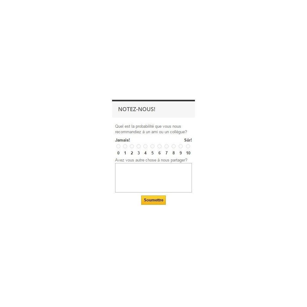 module - Formulaires de Contact & Sondages - Promoter Shopper - 5