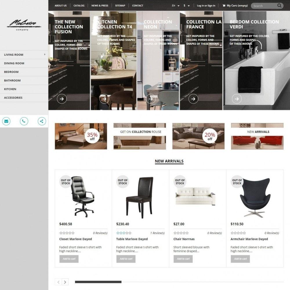 theme - Home & Garden - Interior - Furniture Store - 1
