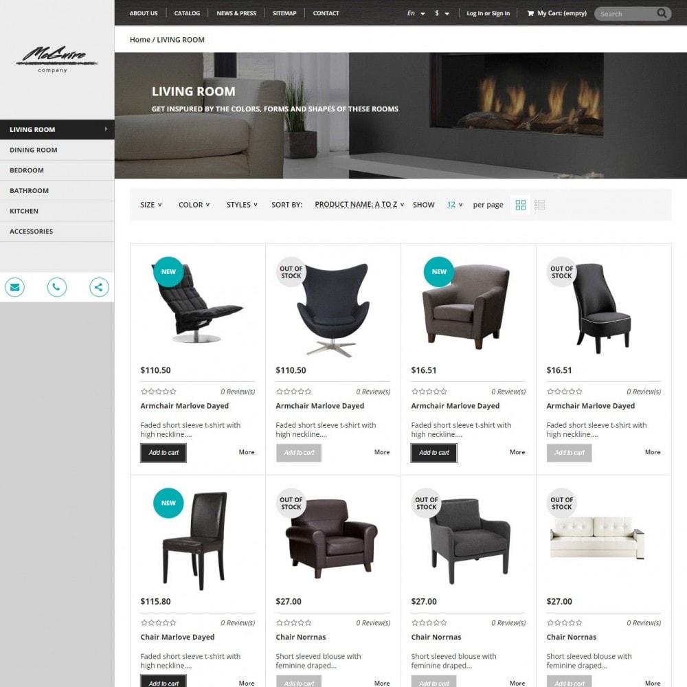 theme - Дом и сад - Interior- Адаптивный Мебельный Магазин - 2