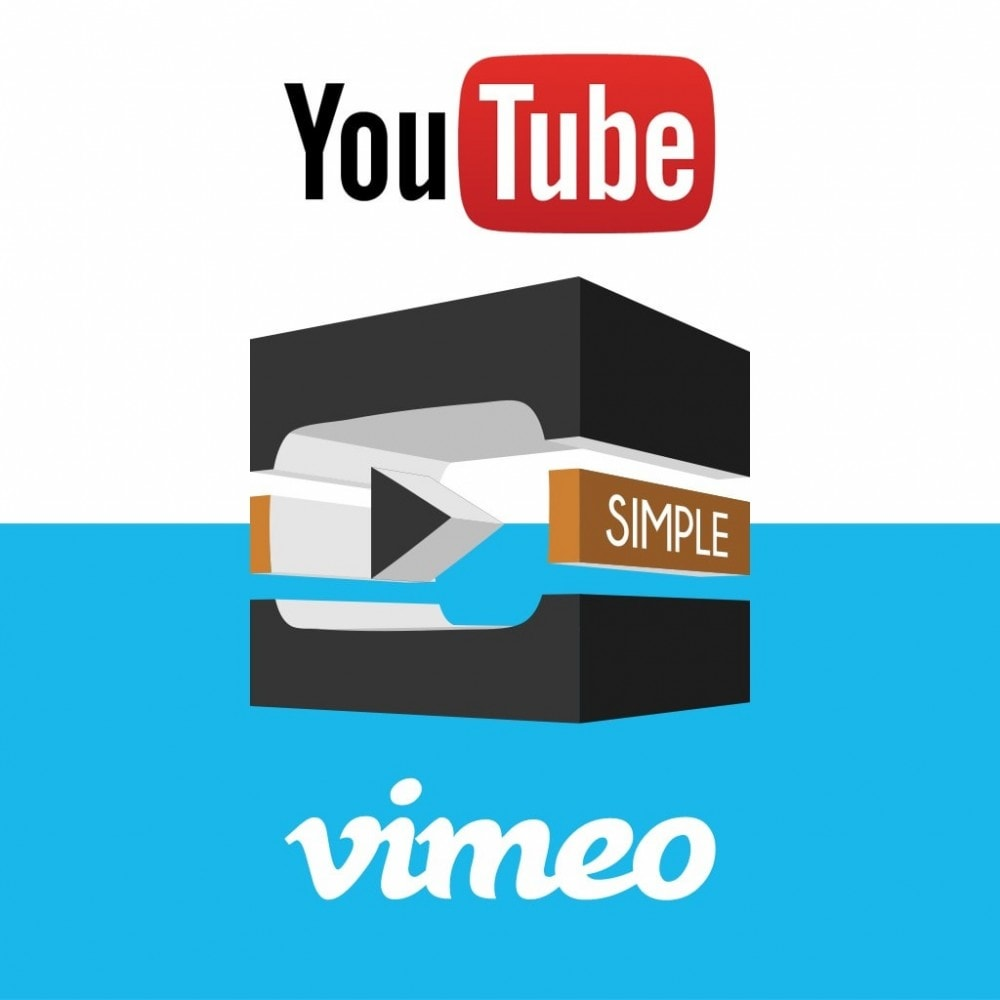 module - Video's & Muziek - YouTube and Vimeo product videos - 1