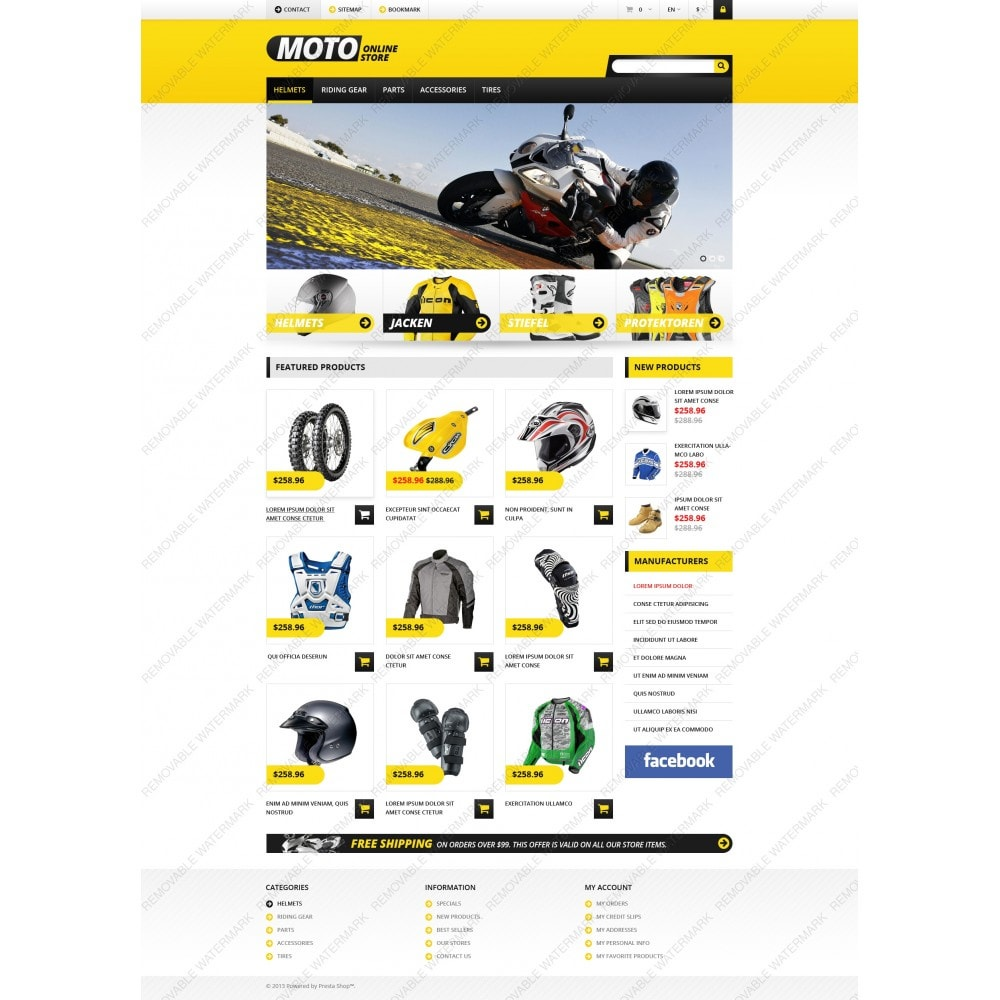 theme - Coches y Motos - Responsive Online Moto Store - 6